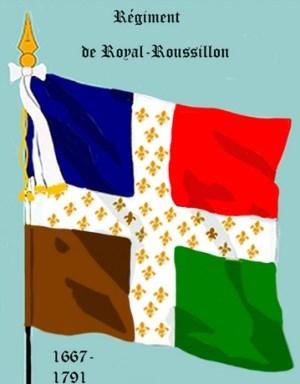drapeau royal roussillon