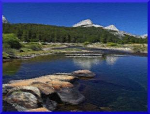 berge riviere