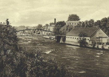 rivière l'Assomption à Joliette