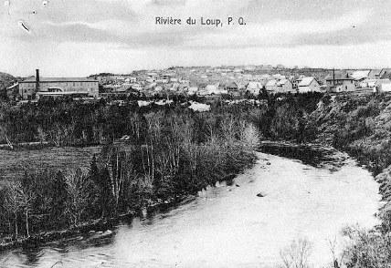 rivière du loup en 1912