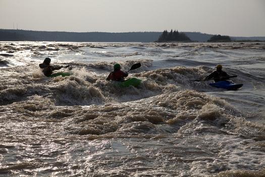 rivière des esclaves kayak