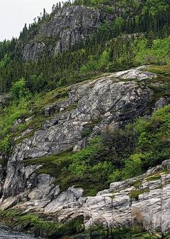 roches au saguenay