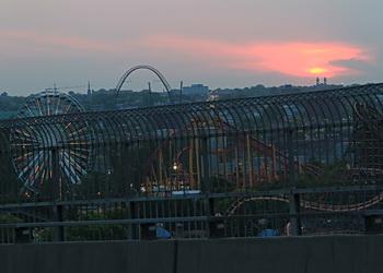 la ronde vue du pont jacquers cartier