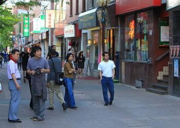 rue quartier chinois