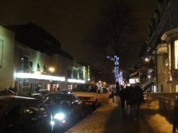 rue saint denis de nuit
