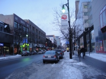 hiver froid ste catherine montreal