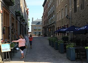 rue du vieux quebec