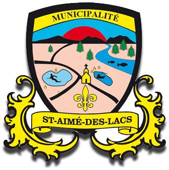 Armoiries de Saint-Aimé-des-Lacs