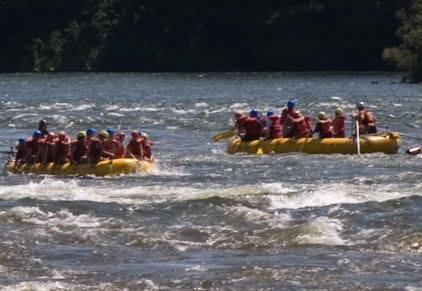 rafting in quebec