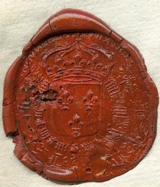 sceau du conseil souverain