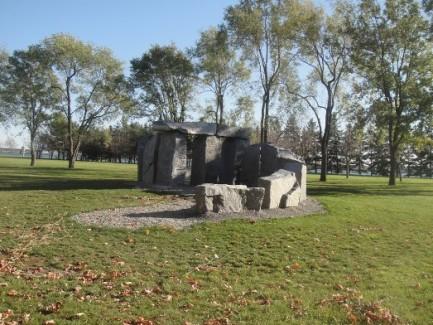 sculpture parc lévesque