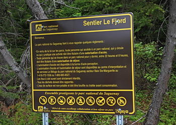 sentier le fjord
