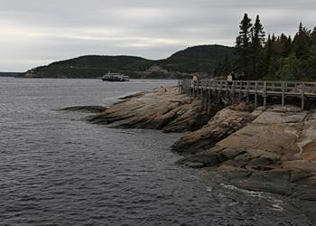 sentier de l'observation des baleines