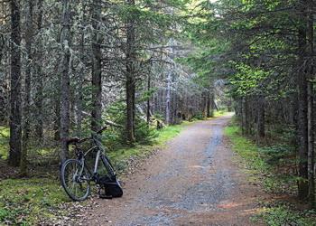 sentier du vélo