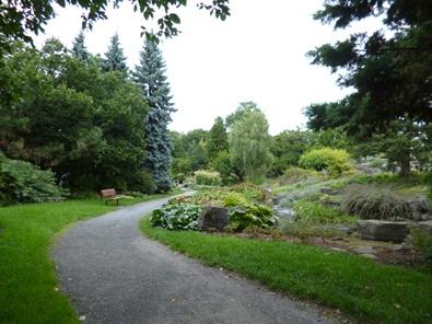 sentiers du jardin botanique de montréal