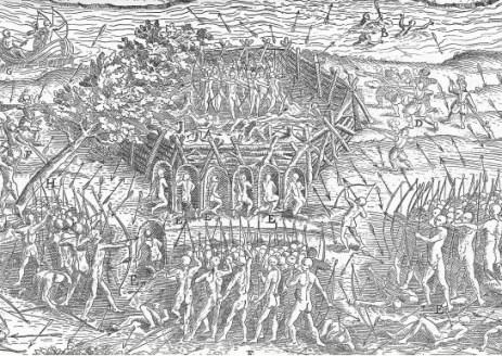 siege du fort iroquois
