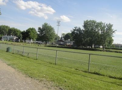 soccer au parc du Sablon