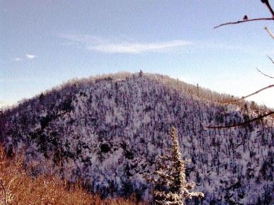 Sommet du mont Glen