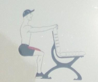 squat isométrique