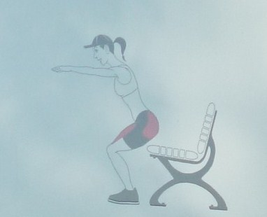 squat touche
