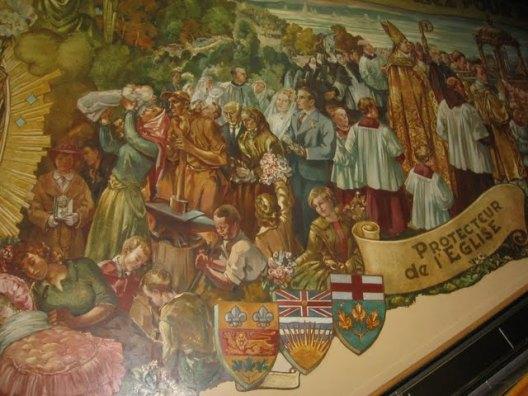 murale oratoire saint-joseph