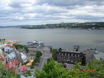 vue de la haute ville