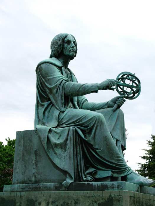 Statue de Copernic