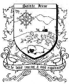 Armoiries de Sainte-Irène
