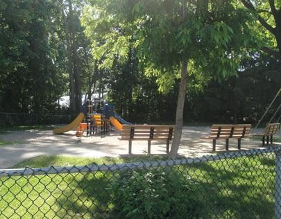 jeux enfants parc Sablon