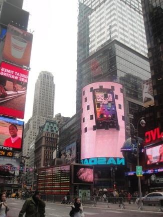 publicite times square