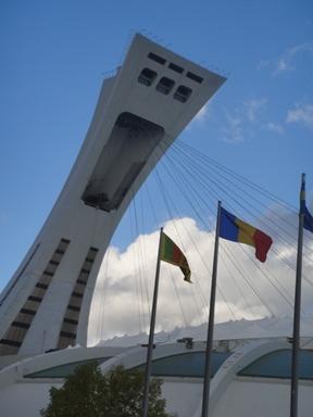 tour inclinée drapeau