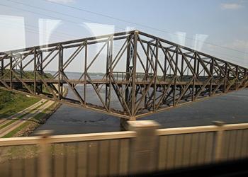 travée du pont de québec
