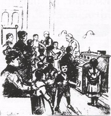 Vaccination en 1901