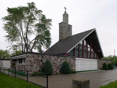 ville de varennes, l'église Marguerite d'Youville