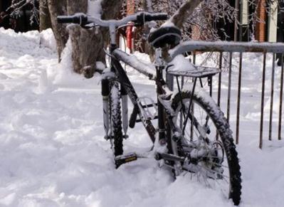 velo neige