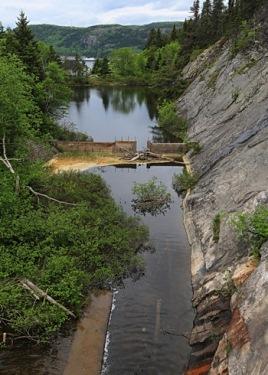 vieux barrage de tadoussac