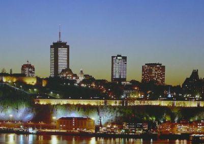 ville de quebec nuit