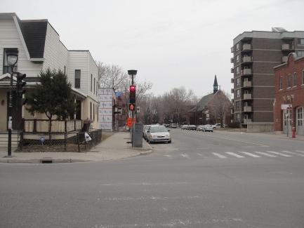 quartier résidentiel ville émard et cote st paul