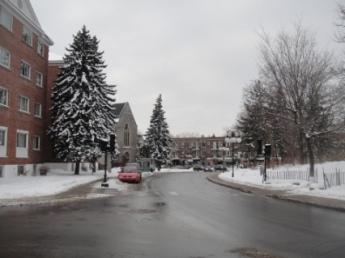 ville mont royal hiver
