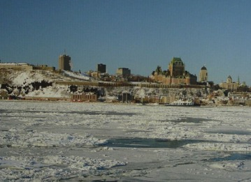 ville de quebec en hiver