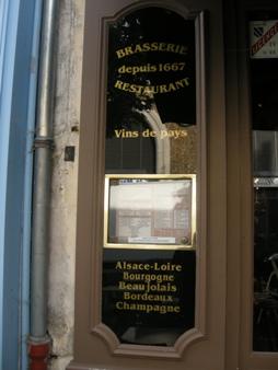 vins de pays brasserie versailles