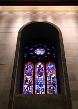 vitrail oratoire