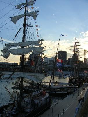 voilier vieux port