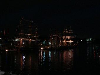 voiliers de nuit