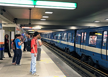 voitures de métro