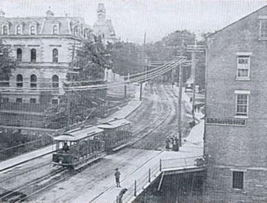 voitures d'été de tramway