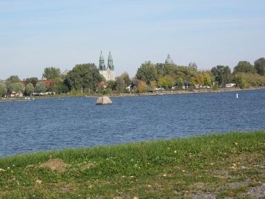 vue du parc sur lachine