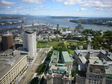 basse ville vue panoramique quebec