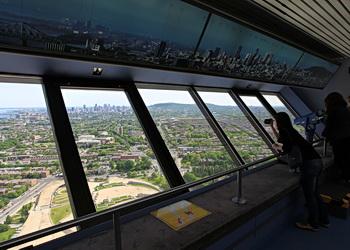vue panoramique depuis la tour