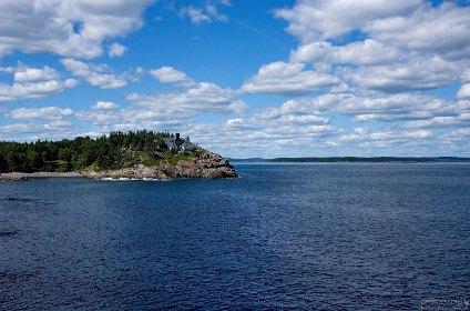 vue du parc Acadia